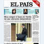 Portadas nacionales del sbado 18 de mayo de 2013. Foto: El Pas