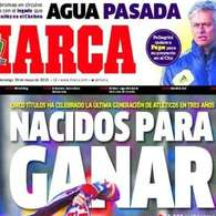 La resaca copera y el dolor de cabeza de Florentino Prez, en las portadas  . Foto: Marca