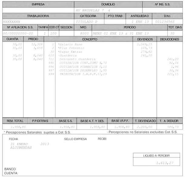 Ejemplo De Nomina En Excel 2013 Colombia