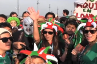 Deportadas: Mexican fans celebrate their Gold Olympic Medal