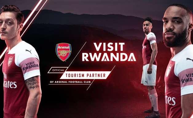 Ruanda defende acordo de patrocínio fechado com o Arsenal