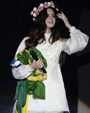 Baterista diz que Lana Del Rey amou tocar no Planeta Terra