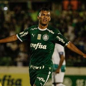 Gabriel Verón brilha e Palmeiras goleia o Goiás em Campinas