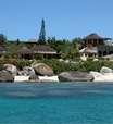 Praias particulares são sinônimos de luxo em terras caribenhas