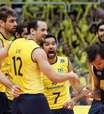 Liga Mundial: Brasil vence a nona em dez jogos e chega motivado à fase final