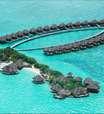 Ilhas Maldivas reúnem luxo e beleza natural; veja fotos
