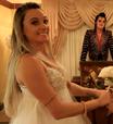 """Juju Salimeni """"se casa"""" em Las Vegas e mostra cerimônia no 'Legendários'"""
