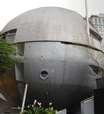 Casa em forma de bola abre as portas ao público pela 1ª vez