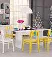 Mesa de jantar: saiba escolher o móvel ideal para salas pequenas