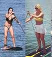Moda no verão, stand up paddle cai nas graças das famosas