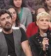 Xuxa e Junno beijam muito em gravação do 'Altas Horas'