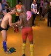 Ex-colegas, croata e camaronês trocam shorts no vestiário