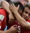 Com três de Shaqiri, Suíça bate Honduras e pega Argentina