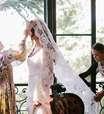 Gêmeas Olsen criam o primeiro vestido de noiva da carreira