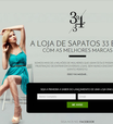 Conheça a loja virtual que só vende dois números de sapatos