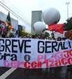 Protestos contra terceirização marcam Dia de Paralisações