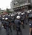 SP: 3º ato do MPL contra tarifas tem forte esquema policial