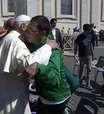 Atleta do hipismo paralímpico recebe bênção do Papa Francisco