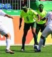 Brasil empata e garante 1º lugar do grupo no futebol de 5