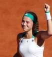 Ostapenko vence e vai à primeira final em Roland Garros
