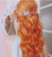 Que tal um cabelo... tangerina?