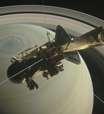 Cassini mergulha em Saturno pela última vez e encerra missão