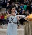 Tocha olímpica dos Jogos de Inverno parte rumo aPyeongchang