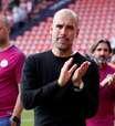 Guardiola avalia Luis Enrique na Espanha como 'excepcional'