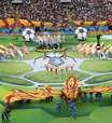 Fotos: Abertura da Copa tem presença de lendas do futebol