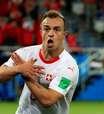 Suíça vira o jogo sobre a Sérvia e embola grupo do Brasil
