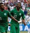 Em duelo de eliminados, Arábia Saudita vence Egito