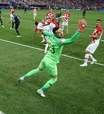Confira as fotos de França x Croácia pela final da Copa
