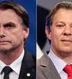 Ibope: Bolsonaro sobe e vai a 31%; Haddad se mantém com 21%