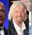 Elon Musk, Jeff Bezos, Richard Branson: os multimilionários que disputam a nova corrida espacial