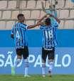 Grêmio faz 3 a 0 no São Bernardo e avança na Copinha