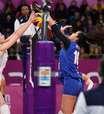 Vôlei feminino perde para Argentina e fica fora do pódio