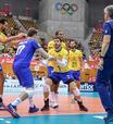 Brasil bate Irã de virada e segue invicto na Copa do Mundo de vôlei