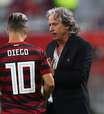 Jesus elogia Diego, mas não deve mudar Flamengo para final