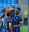 Reservas do Grêmio passam tranquilamente pelo Juventude em estreia do segundo turno do Gaúcho