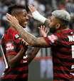 Flamengo não dava três goleadas seguidas desde 2000