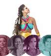 Festival Afrodisia trará 50 mulheres, entre elas Mariana Aydar, Fabiana Cozza e Roberta Sá