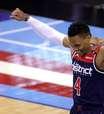 """Westbrook rebate críticas de comentarista: """"Sou um campeão"""""""