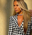 Adriane Galisteu prova ar fashion do P&B no 'Power Couple'