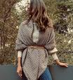 Isabella Fiorentino ensina a vestir manta com cinto