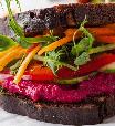 Como fazer um sanduíche vegetariano saboroso e completo