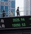 Ações da China fecham em queda devido a tensões com Ocidente