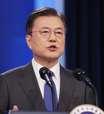 Líder sul-coreano diz ser hora de buscar paz com Coreia do Norte antes de reunião com Biden