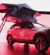 SUV Taos, um carro de 101 utilidades, pode ter até tenda