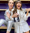 Fernanda Keulla e Thaís Braz mostram como usar brilho