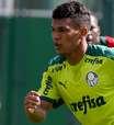 Gabriel Veron fica perto de retorno no Palmeiras